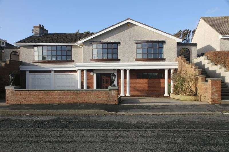 4 Bedrooms Detached House for sale in Perwick Bay, Port St Mary