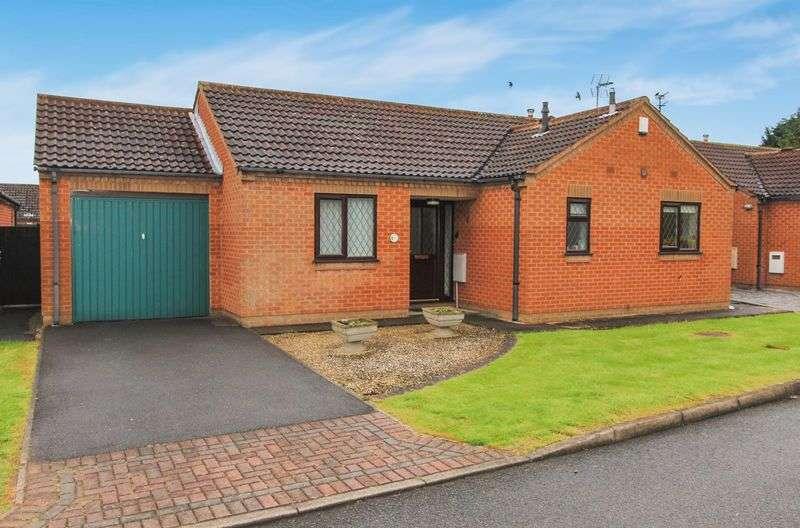 2 Bedrooms Detached Bungalow for sale in Birchfield Close, Chellaston DE73 6SS