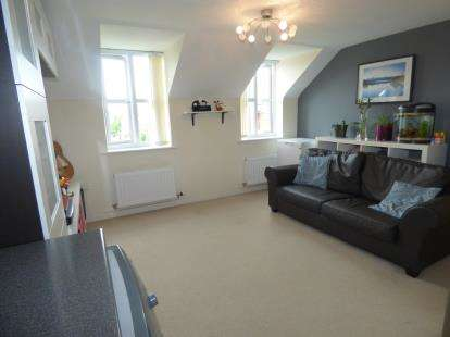 2 Bedrooms Flat for sale in Rylands Drive, Warrington, Cheshire, WA2