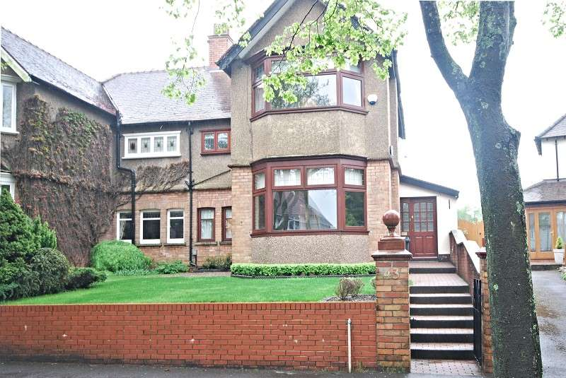 3 Bedrooms Semi Detached House for sale in Edward Vll Avenue, Newport, South Wales. NP20 4NH