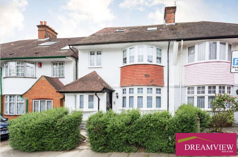 6 Bedrooms Semi Detached House for sale in ALBA GARDENS, GOLDERS GREEN, LONDON, NW11
