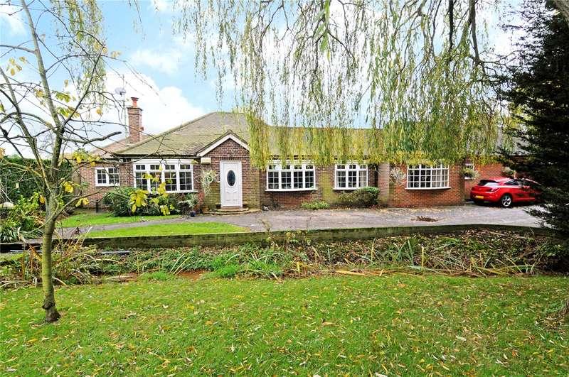 5 Bedrooms Detached Bungalow for sale in Philpot Lane, Chobham, Woking, Surrey, GU24