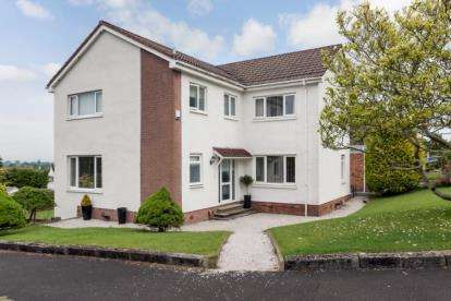 4 Bedrooms Detached House for sale in Stanely Crescent, Paisley, Renfrewshire
