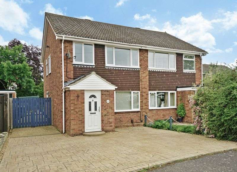 3 Bedrooms Semi Detached House for sale in Eaton Ford, St. Neots
