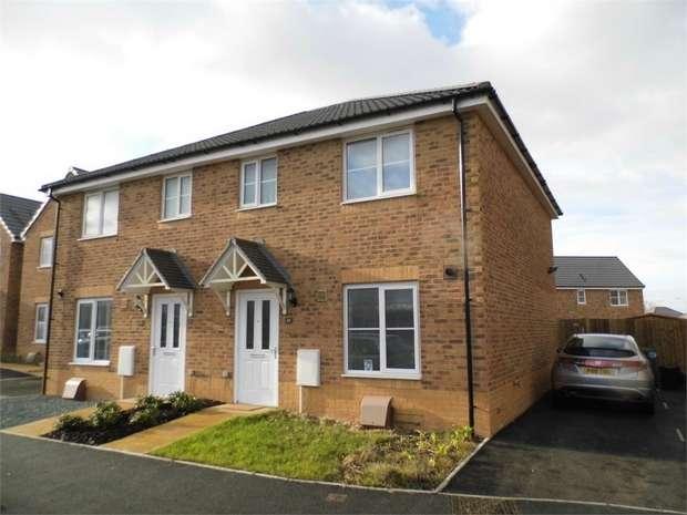 3 Bedrooms Semi Detached House for sale in Heol Tredwr, Waterton, Bridgend, Bridgend, Mid Glamorgan