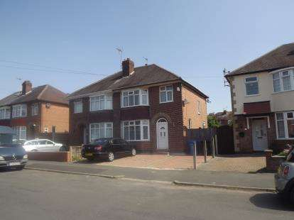 3 Bedrooms Semi Detached House for sale in Melton Avenue, Littleover, Derby, Derbyshire