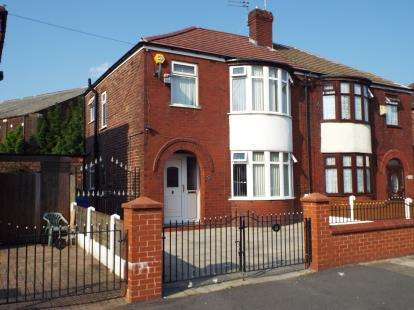 3 Bedrooms Semi Detached House for sale in Brendon Avenue, Manchester, Greater Manchester