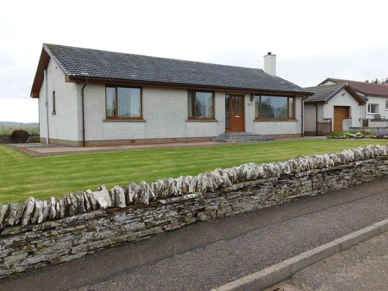 4 Bedrooms Detached Bungalow for sale in Comh-Sheinn, Crescent Street, Halkirk, KW12 6XN