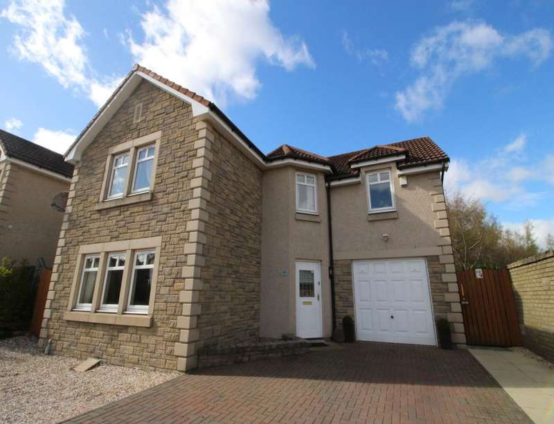 4 Bedrooms Detached House for sale in Beechwood Drive, Glenrothes, KY7