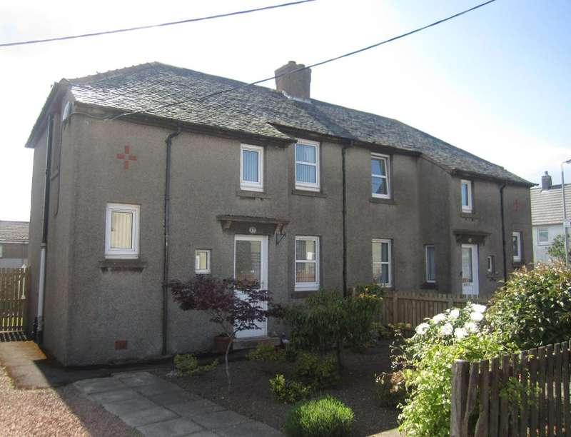 3 Bedrooms Semi Detached House for sale in Lancaster Road, Auchenheath, Lanark, ML11