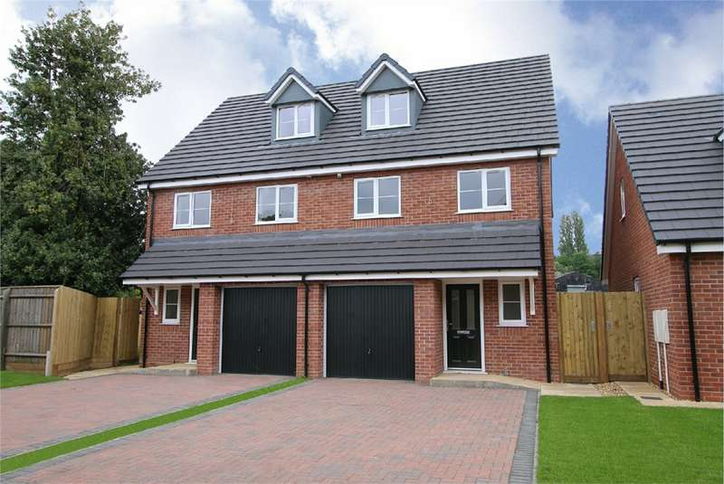 3 Bedrooms Semi Detached House for sale in New Park Mews, Pensnett