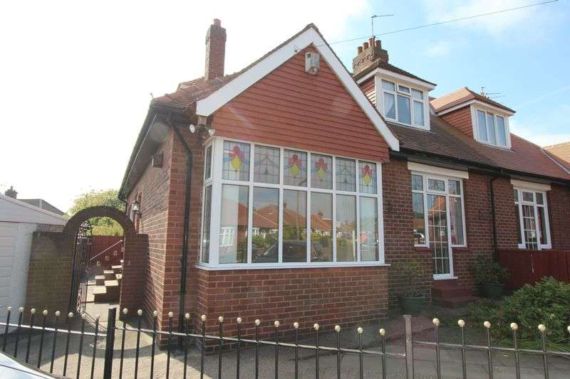 3 Bedrooms Semi Detached Bungalow for sale in Gifford Square, Nookside, Sunderland