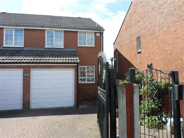 3 Bedrooms Semi Detached House for sale in Sedgewick Street, Jacksdale, Nottingham