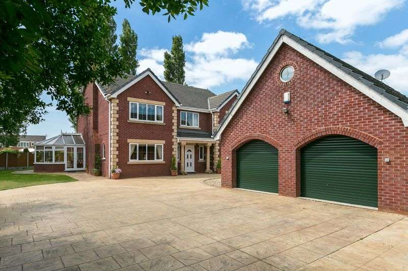 5 Bedrooms Detached House for sale in Green Lane, Hindley Green, WN2 4HN