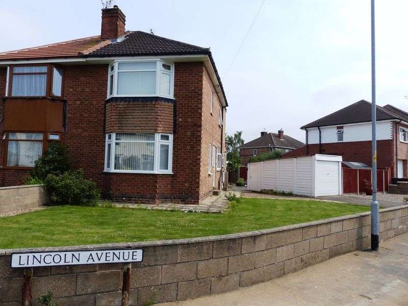 3 Bedrooms Semi Detached House for sale in Lincoln Avenue, Lincoln