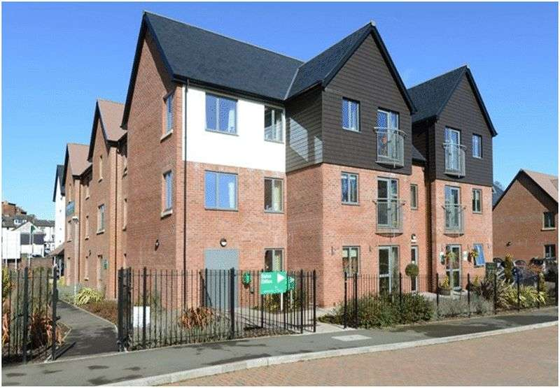 1 Bedroom Flat for sale in Jebb Court, Dairy Grove, Off Wharf Road, Ellesmere : NEW HOME one bed ground floor retirement apartment