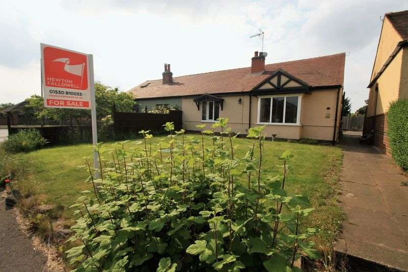 2 Bedrooms Semi Detached Bungalow for sale in Bagworth Road, Nailstone