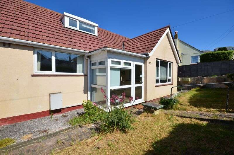 3 Bedrooms Semi Detached Bungalow for sale in BARNFIELD ROAD, BRIXHAM