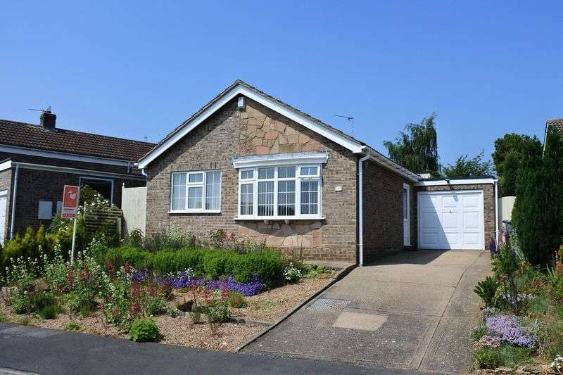 2 Bedrooms Detached Bungalow for sale in Lichfield Close, Grantham