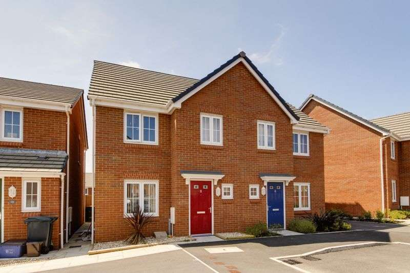 3 Bedrooms Semi Detached House for sale in Clos Marteg, Newport