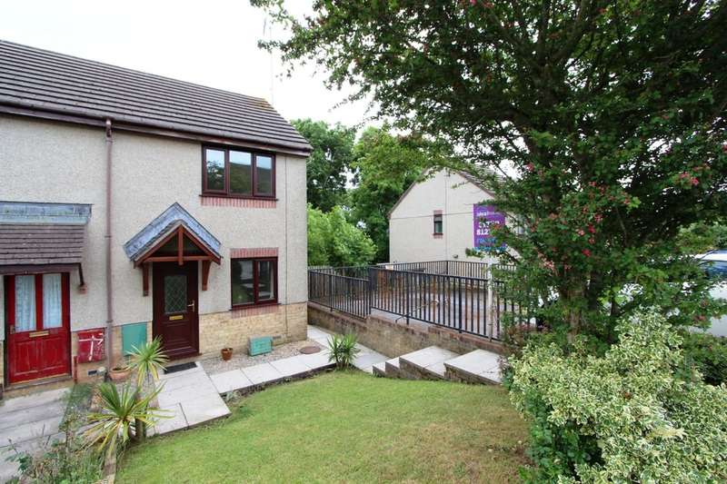 2 Bedrooms End Of Terrace House for sale in Sennen Close , Torpoint