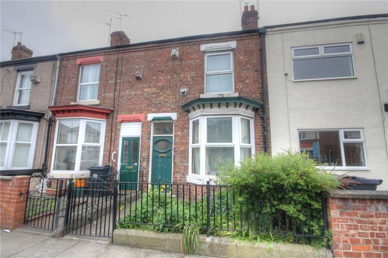 2 Bedrooms Terraced House for sale in Lodge Street, Darlington, Co Durham, DL1