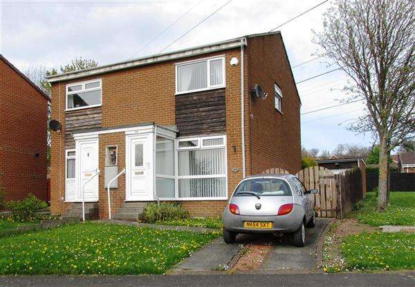 2 Bedrooms Semi Detached House for sale in Burnham Avenue, Newcastle upon Tyne