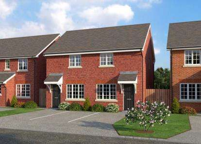 2 Bedrooms Semi Detached House for sale in The Paddocks, Sandy Lane, Higher Bartle