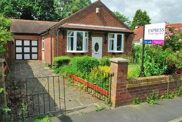 3 Bedrooms Detached Bungalow for sale in Richmond Grove, Cheadle Hulme, Cheadle, Cheshire