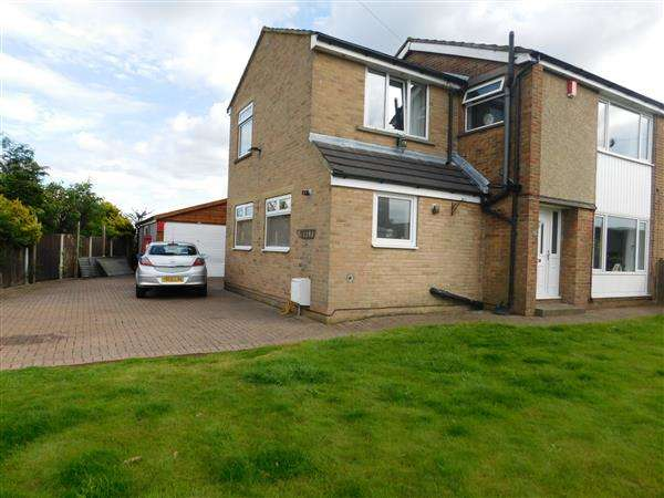 4 Bedrooms Semi Detached House for sale in St Abbs Close, Odsal, Bradford