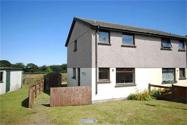 3 Bedrooms Semi Detached House for sale in Paradise Park, Whitstone, Holsworthy, Cornwall