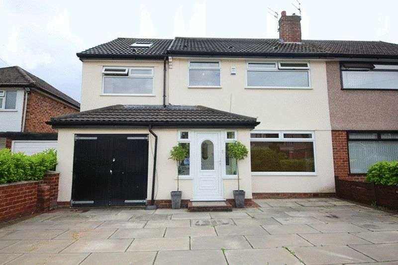 5 Bedrooms Semi Detached House for sale in Bancroft Close, Woolton, Liverpool, L25