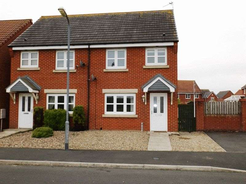 2 Bedrooms Semi Detached House for sale in Priced to sell - Ladyburn Way, Hadston - Two Bedroom Semi Detached House