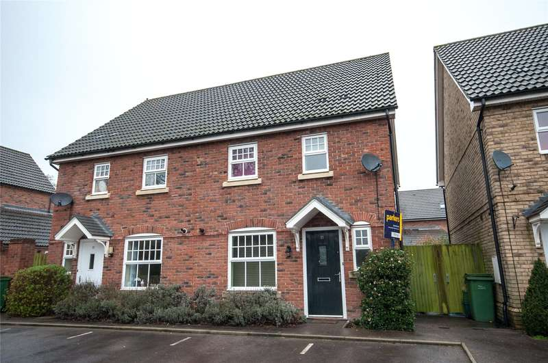 2 Bedrooms Semi Detached House for sale in Tayberry Grove, Mortimer Common, Reading, RG7