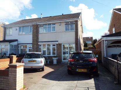 3 Bedrooms Semi Detached House for sale in Malvern Close, Liverpool, Merseyside, L32