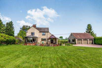4 Bedrooms Detached House for sale in Marston Lane, Marston, Stafford, Staffordshire