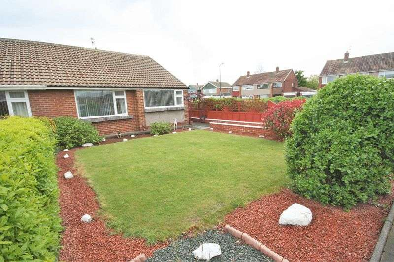 2 Bedrooms Semi Detached Bungalow for sale in Mendip Drive, Redcar ***WITH MEDIA TOUR***