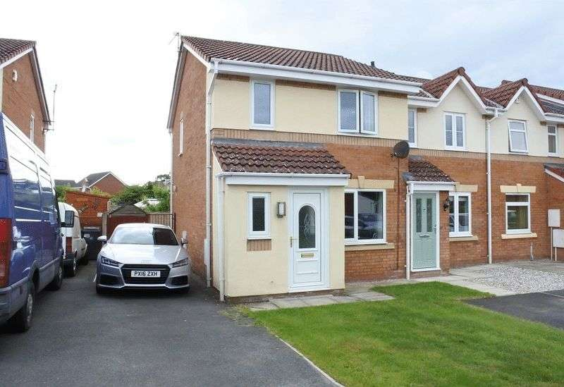 3 Bedrooms Terraced House for sale in Moorside Drive, Carlisle