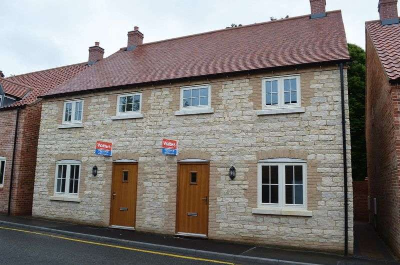 3 Bedrooms Semi Detached House for sale in Plot 5 Blacksmiths Yard, Bar Lane WADDINGTON