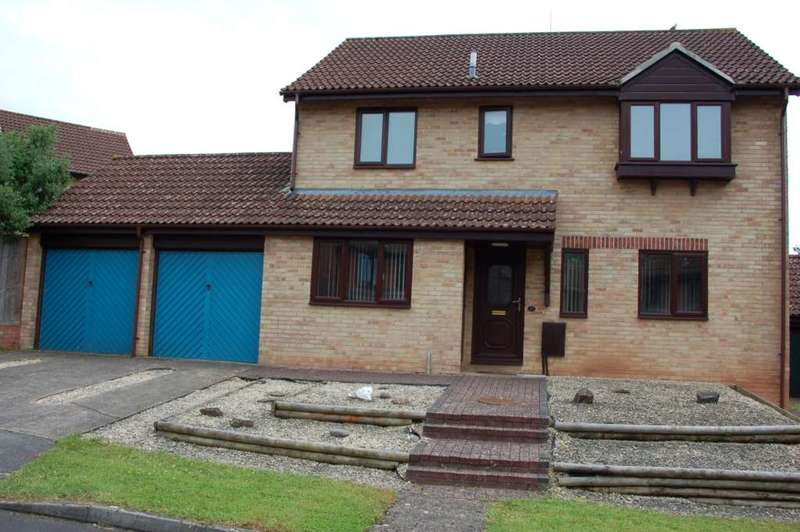 4 Bedrooms Detached House for sale in Kingsway, Taunton