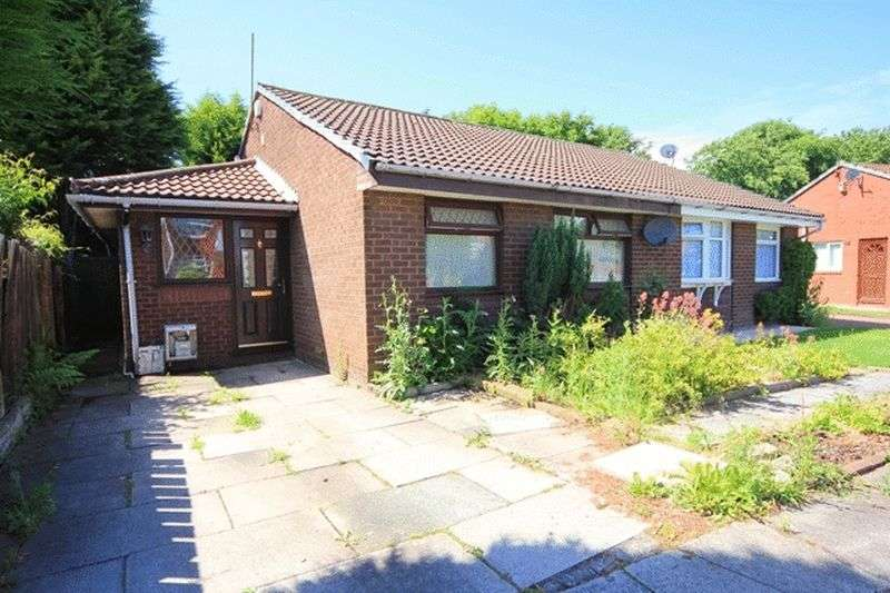 3 Bedrooms Semi Detached Bungalow for sale in Milford Drive, Croxteth Park, Liverpool, L12