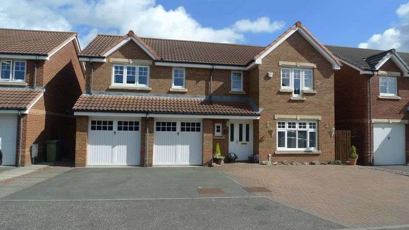 5 Bedrooms Detached House for sale in John Paul Jones Court, Kirkcaldy