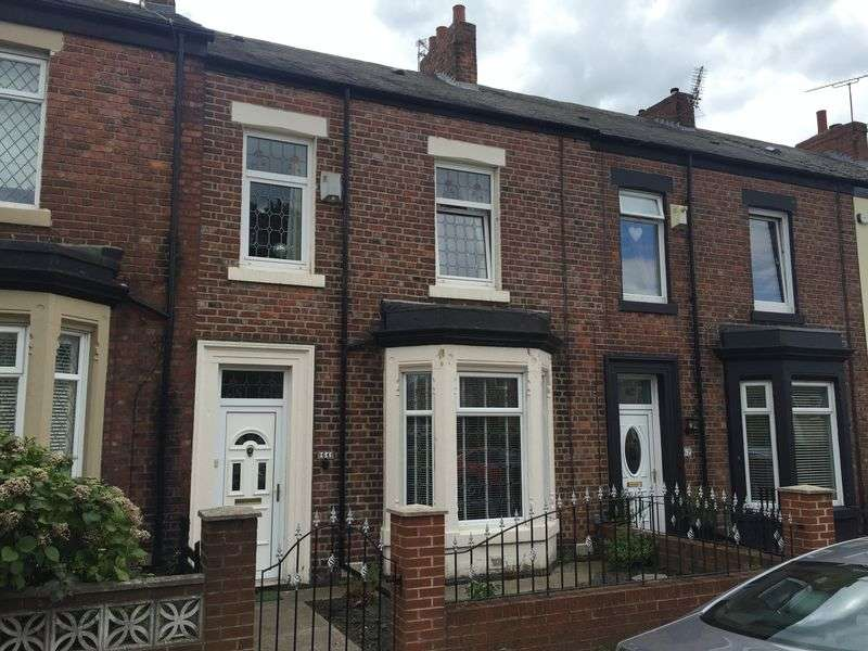 3 Bedrooms Terraced House for sale in Croft Terrace, Jarrow