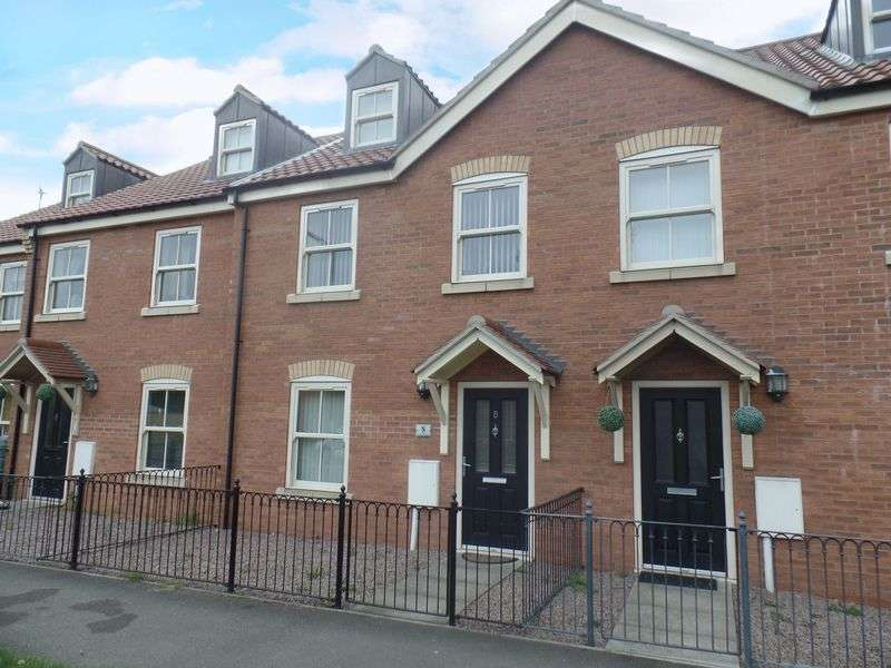 3 Bedrooms Terraced House for sale in Coach Mews, Waddington, Lincoln