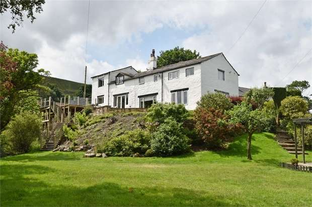 4 Bedrooms Detached House for sale in Burnley Road, Cliviger, Burnley, Lancashire