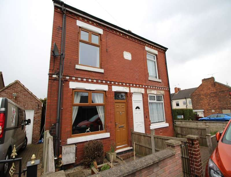 2 Bedrooms Semi Detached House for sale in Waverley Street, Tibshelf, Alfreton, DE55
