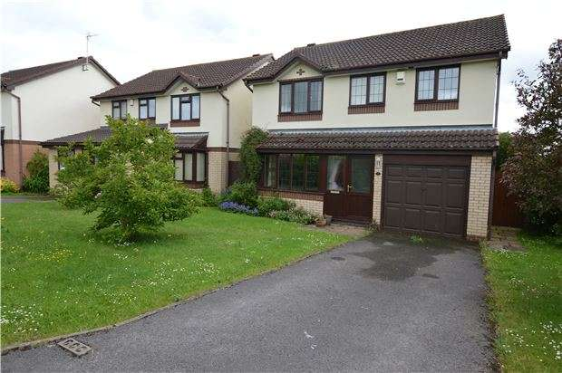4 Bedrooms Detached House for sale in Alverton Drive, Bishops Cleeve, CHELTENHAM, GL52 8TD