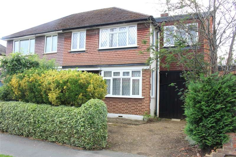 4 Bedrooms Semi Detached House for sale in Shackleford Road, Woking, Surrey, GU22