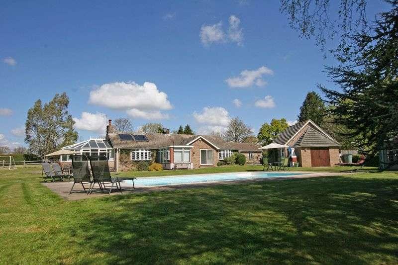 5 Bedrooms Detached Bungalow for sale in 5 bedroom property with 1 bedroom annexe, Wineham.