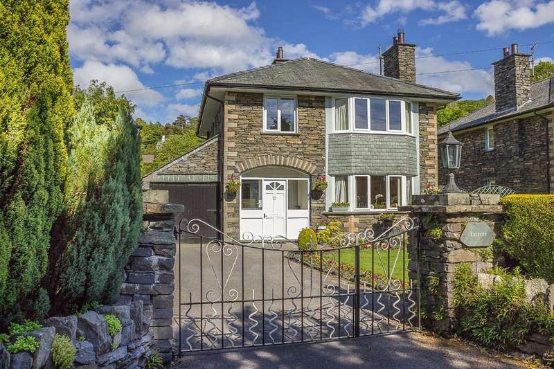 3 Bedrooms Detached House for sale in Lucerne, Langrigge Drive, Bowness-on-Windermere